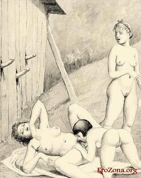 Эро Рисунки 18