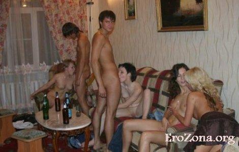 Студенческая вечеринка после сессии