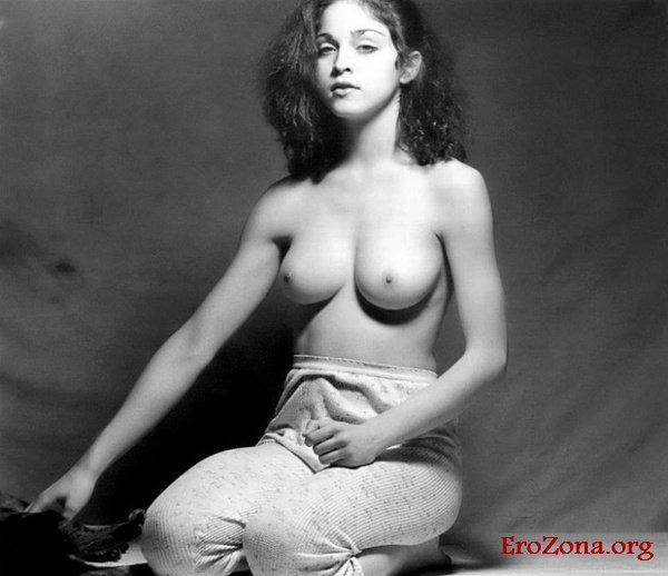 Первая откровенная фотосессия Мадонны в 18 лет