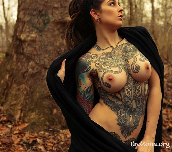 Sеksi тату на интимных местах у женщин