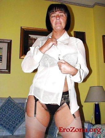русская жена в белье домашнее фото