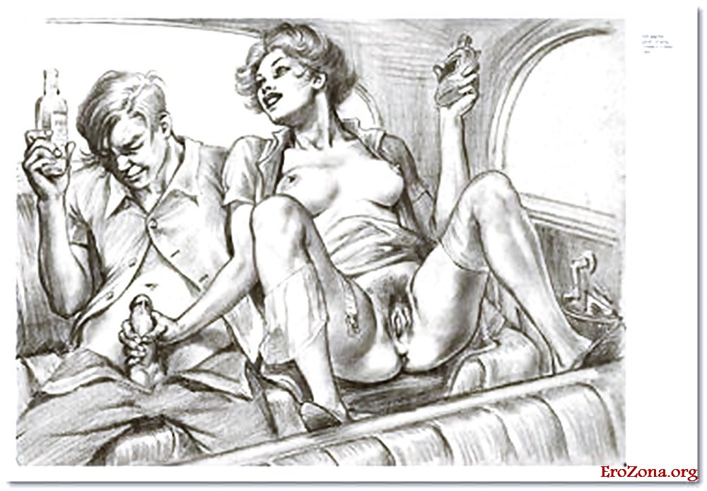 Винтажные Картинки Рисованные Эро Порно