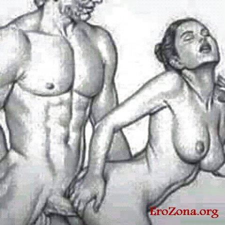 рисованные картинки секс