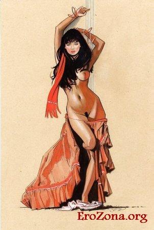 красивые эротические рисунки
