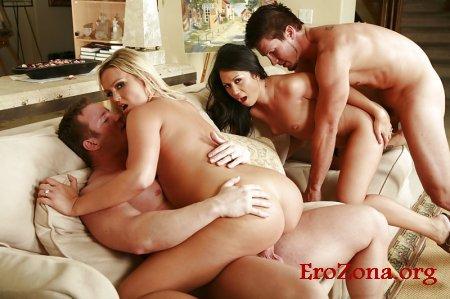 любительское порно фото группового секса