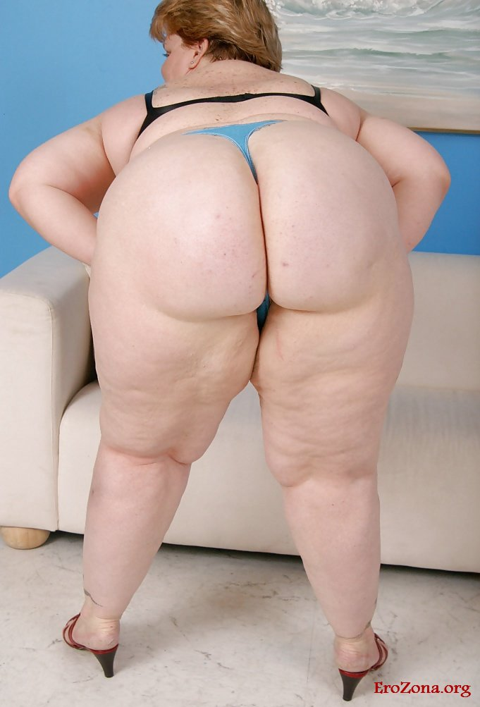 Голые Жопы Толстых Телок