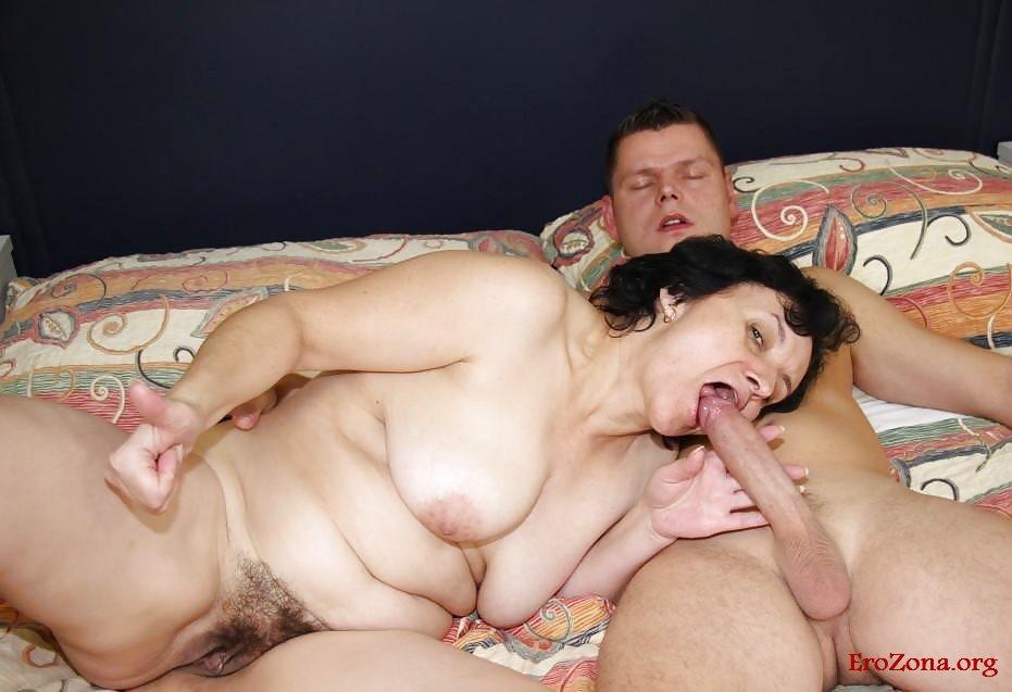 Старушки С Молодыми Порно Фото