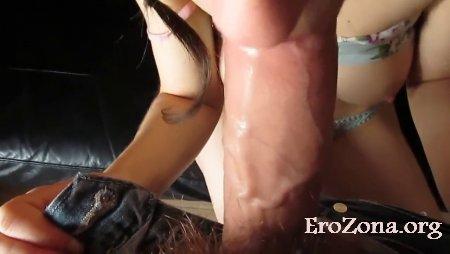 Домашнее порно видео с участием русской девушкой Таней