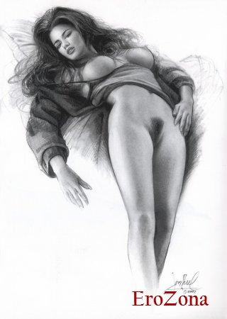 эротичные рисунки бесплатно