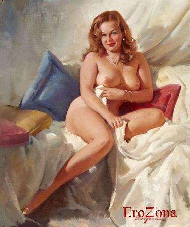 голые рисованные тети