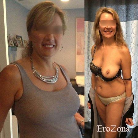 Присланная подборка фото посетительницы нашего сата на которых она позирует в одежде и без