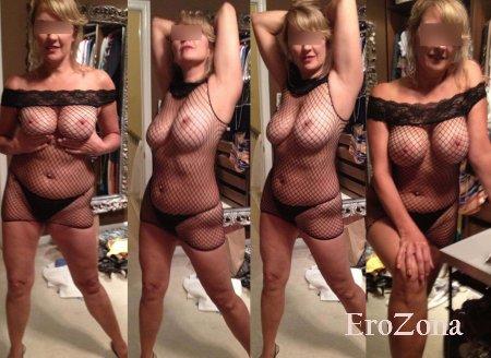 Эротический фото коллаж посетительницы сайта в нижнем белье