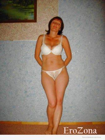Шикарное голое тело рыжей русской зрелой красотки