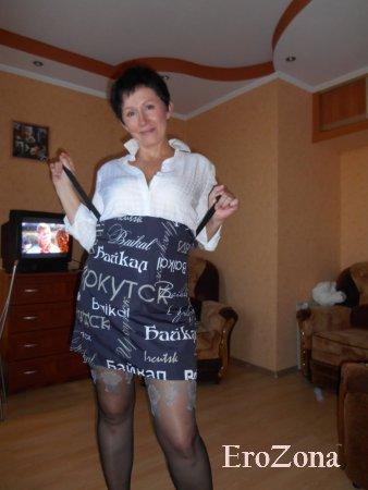 Зрелая замужняя шлюшка Аля из Иркутска