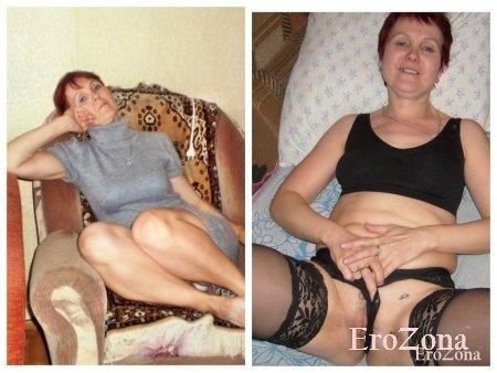Фото коллаж развратной зрелой женщины